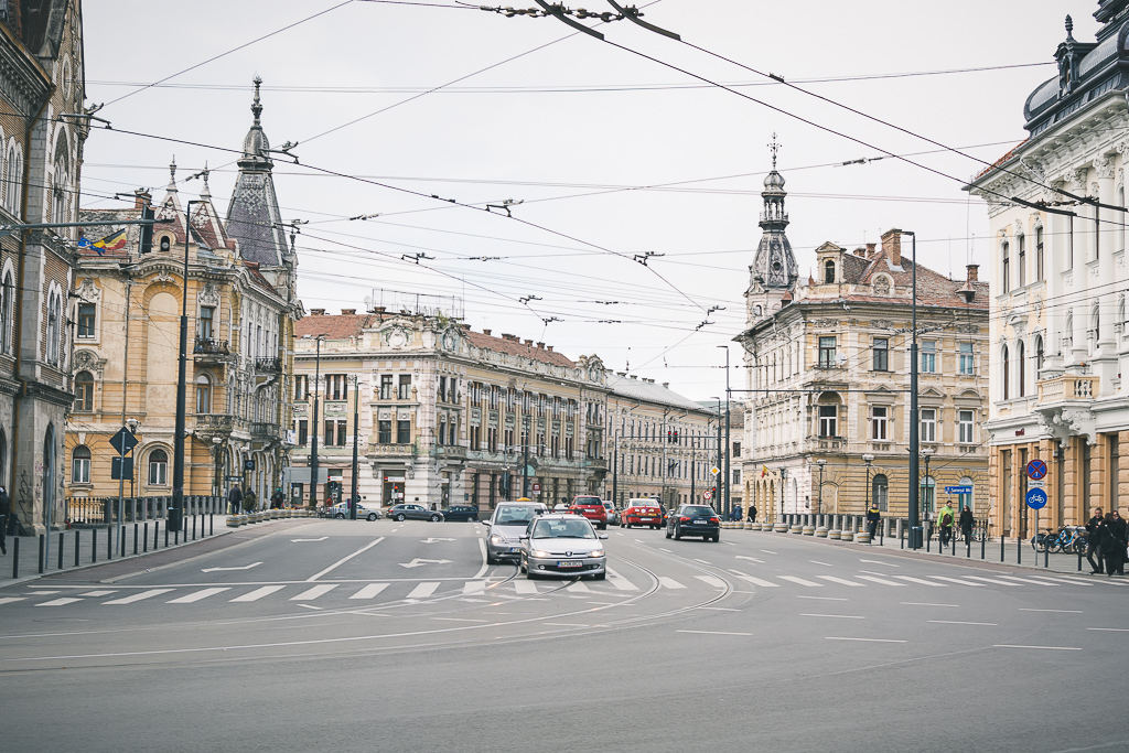 Cluj Napoca Intersection
