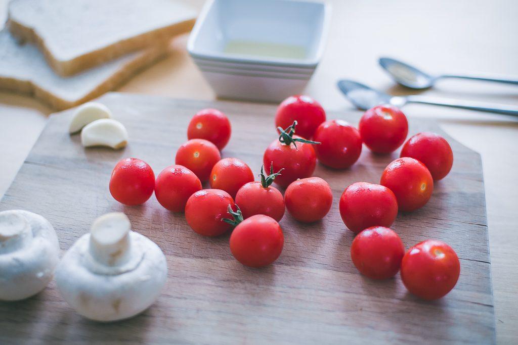 Bruschetta recipe tomatoes