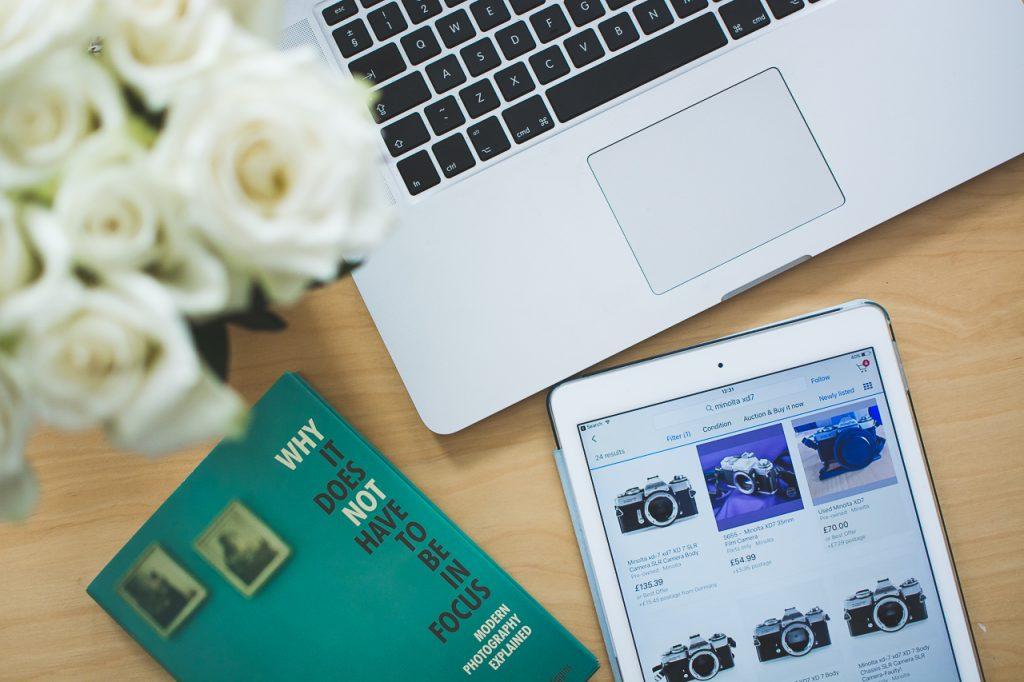 Ebay research on Ipad