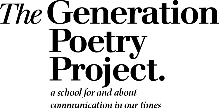 the generation poetry project