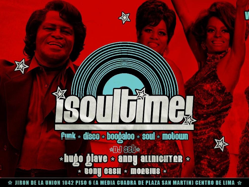 Soultime Noche De Soul Funk Y Disco En Kong Terraza Bar