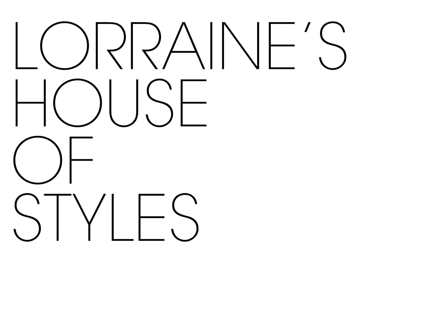 Lorraine's House of Styles