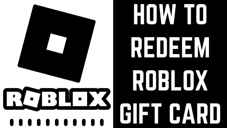 How to Redeem Roblox Gift Card Max Dalton Tutorials