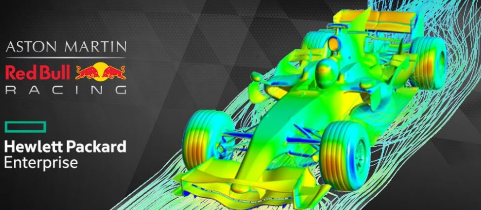 Webinar How Aston Martin Red Bull Racing Delivers Winning Cfd With Partners Ansys And Hpe Edrmedeso Digital Labs