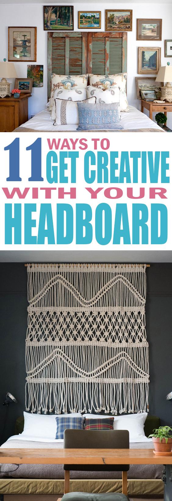 Creative Headboard DIY Ideas