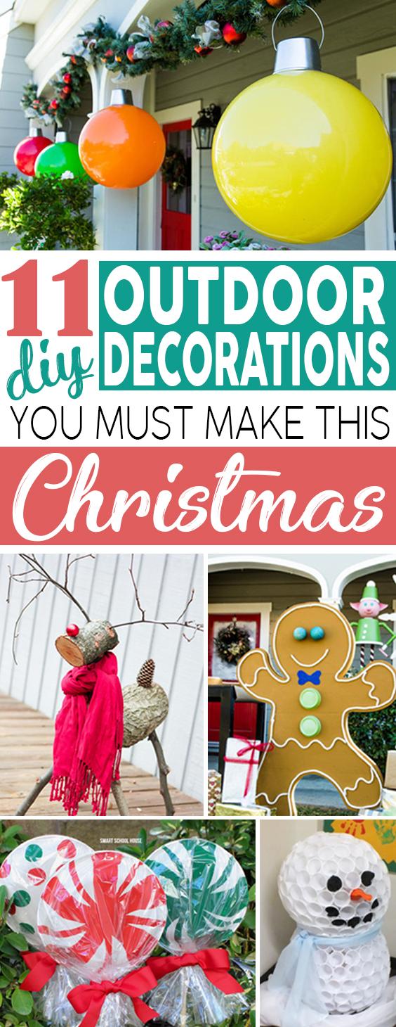 Christmas Outdoor Decoration DIY