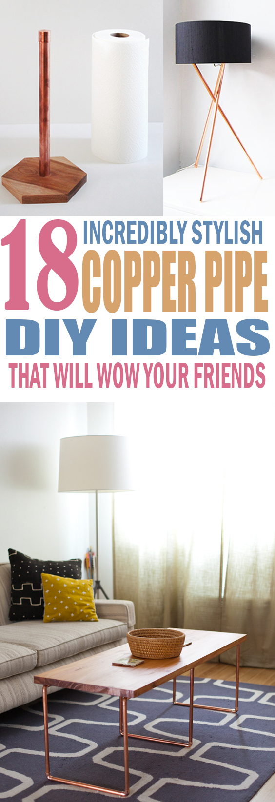 Copper Pipe DIY Projects