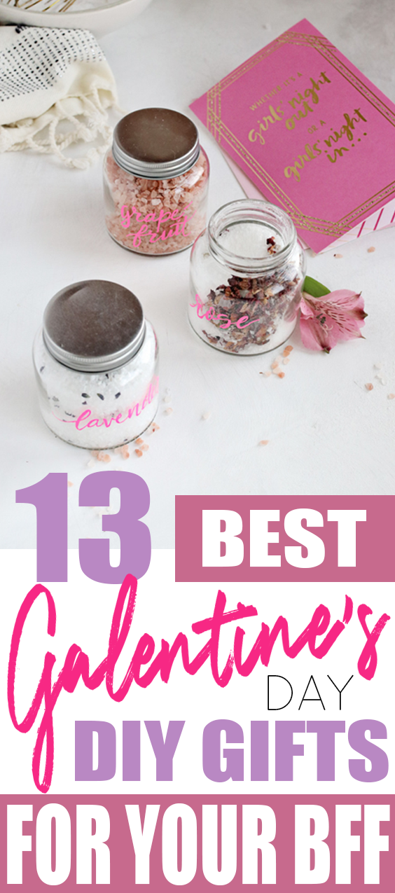 A List of 13 Best Galentine's Day DIY Gift Ideas for Your Besties!