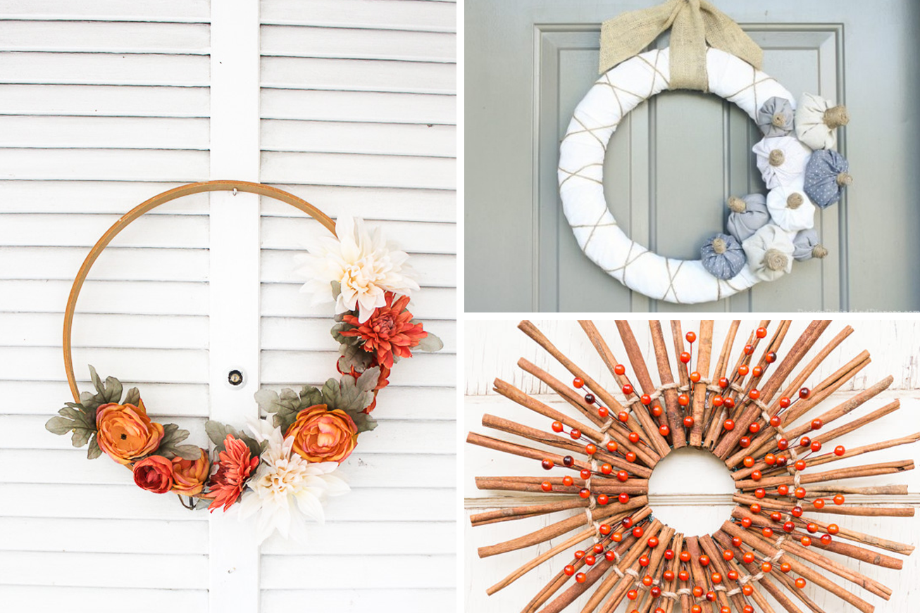 100 Gorgeous Diy Fall Wreaths That Are Easy To Make Our Habitat