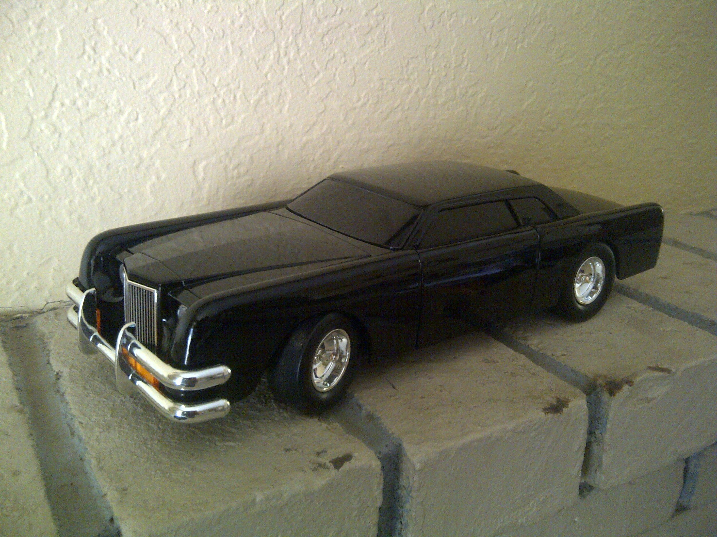 """1:13 scale diecast of """"The Car"""""""