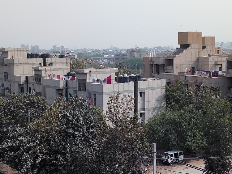 A residential colony in Delhi-NCR