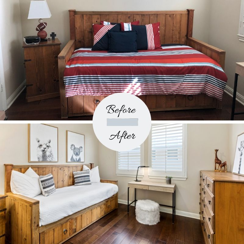 Home Staging By the Boyle Group Before and After
