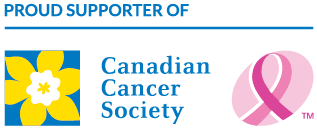Proud Supporter Of Canadian Cancer Society