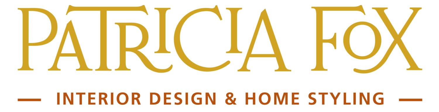Patricia Fox | Interior Design and Home Styling