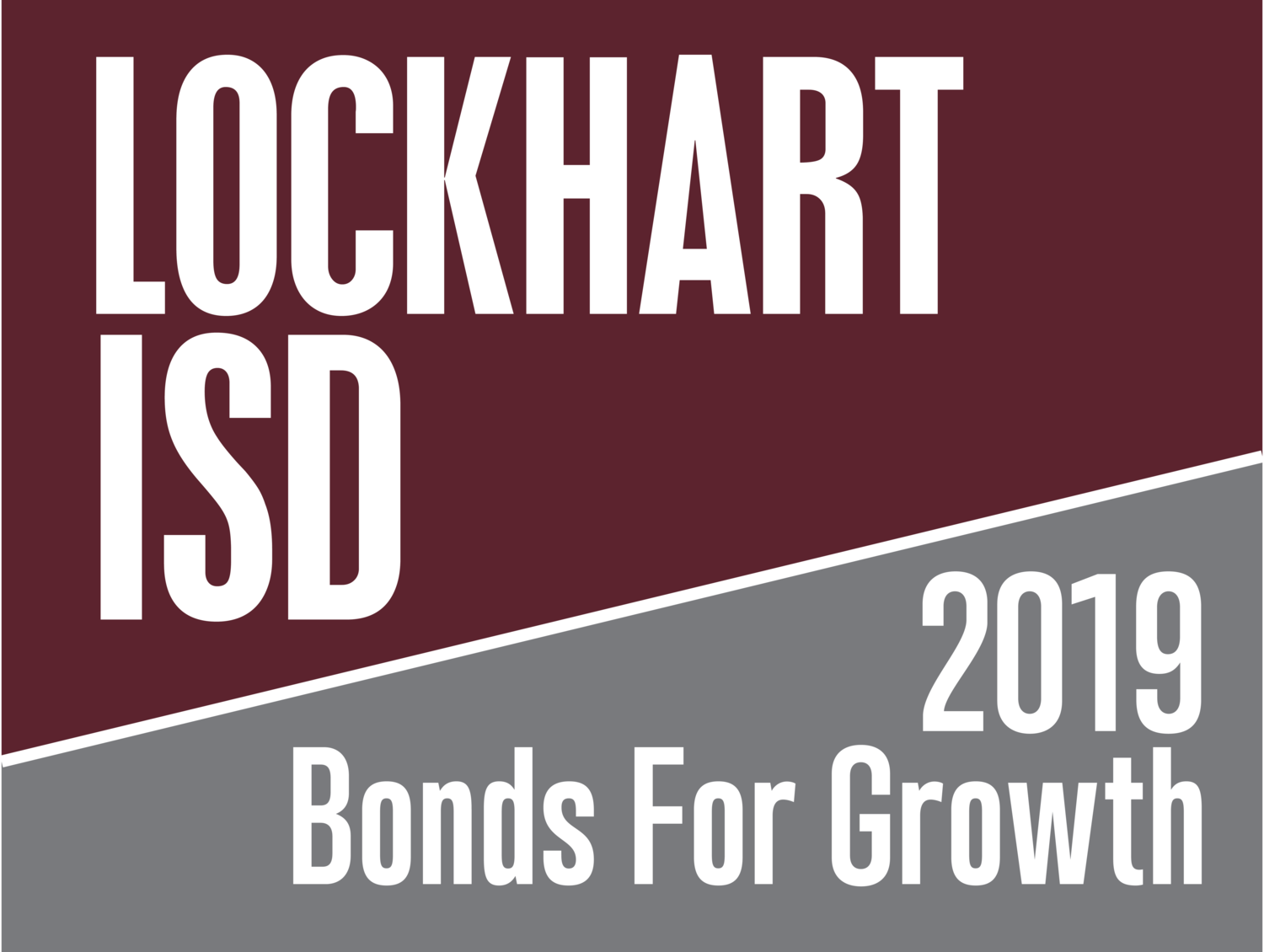 Lockhart ISD Bond Referendum