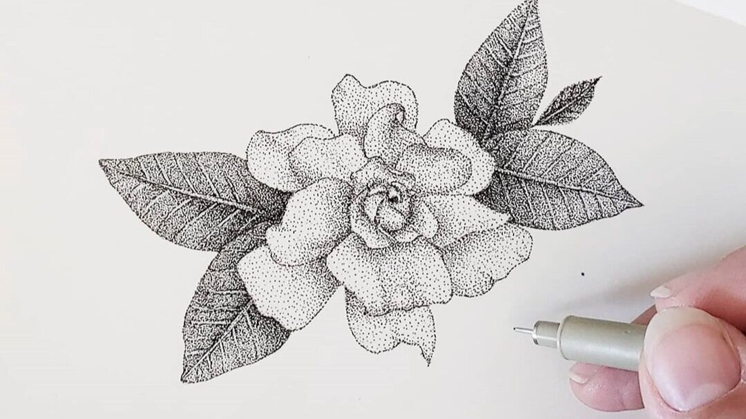Follow Lauren Ehlers for some great Pointilism