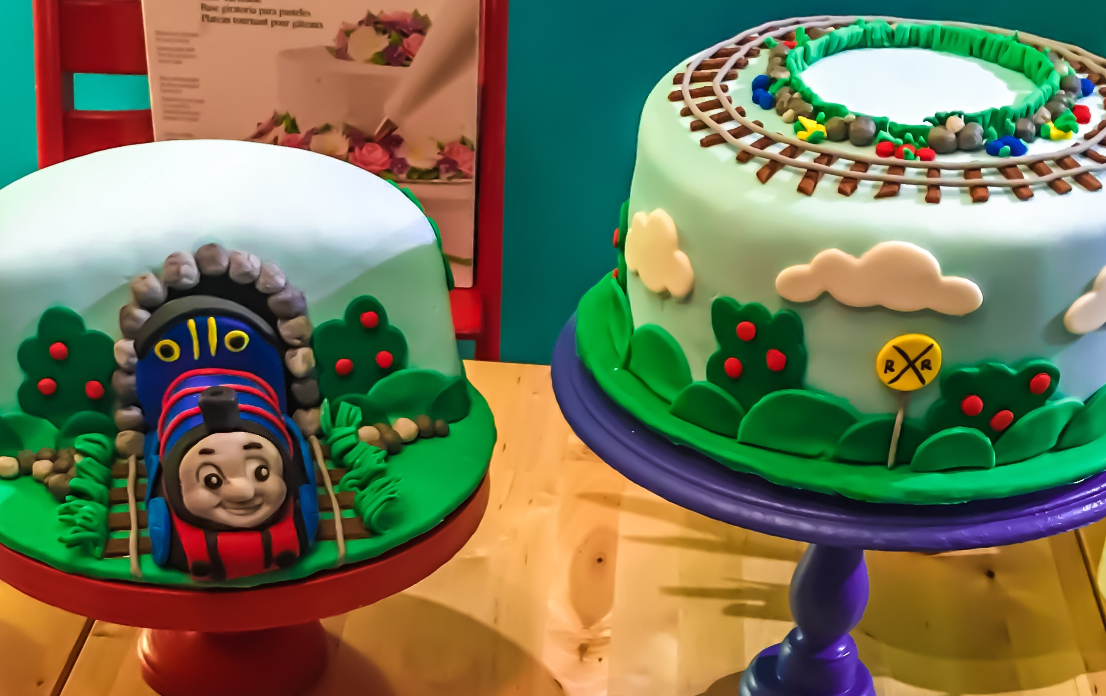 Thomas the Train cakes