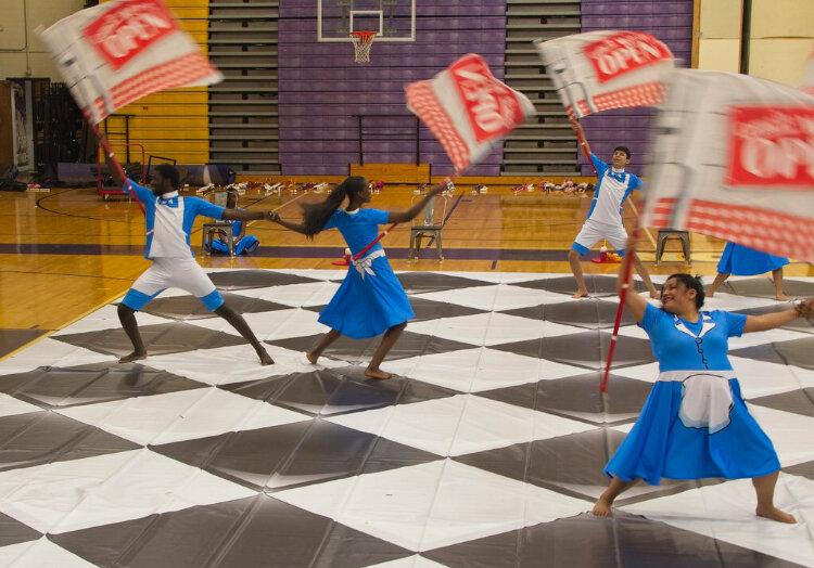 Winter Guard Gets Ready For New Season The Fang