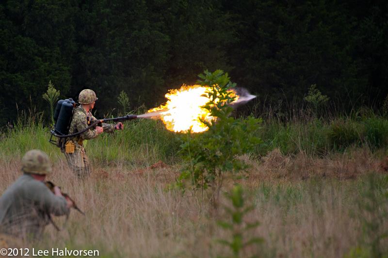 WWII Flamethrower