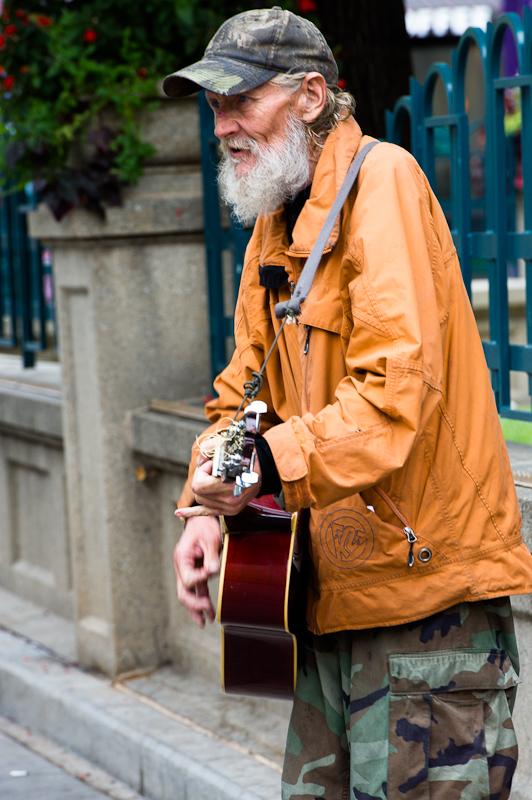 Music on Denver's 16 Street