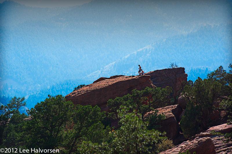 Life At The Top - Garden of the Gods, Colorado Springs