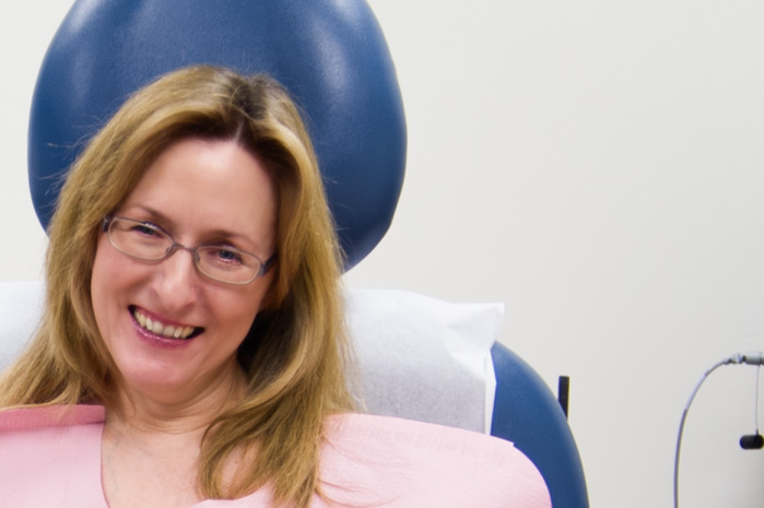 Diane Just Before The Procedure