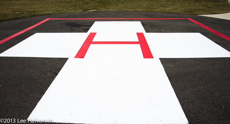 Hospital Helicopter Pad