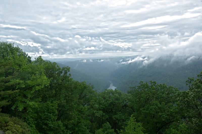 Cooper's Rock Rain Clouds