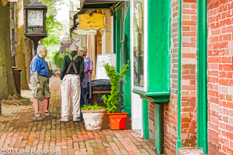 Chance Meeting in Old Town