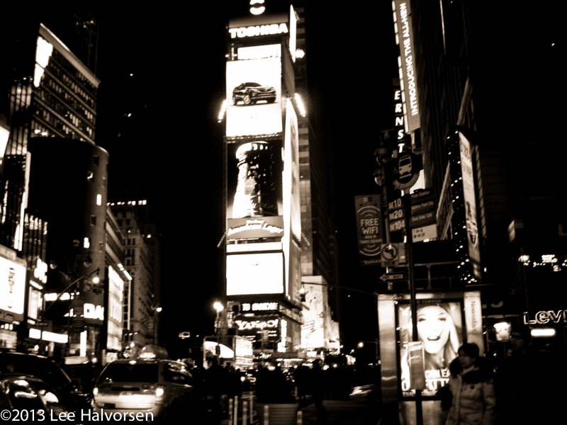 Time Square at Night