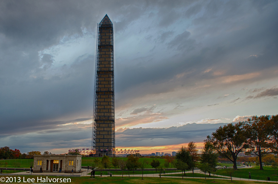 Washington Monument - Unlit