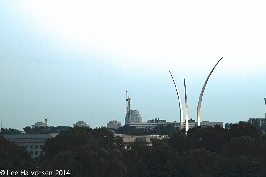 Air Force Memorial & Pentagon