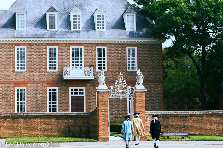 Back in time at the Williamsburg Palace