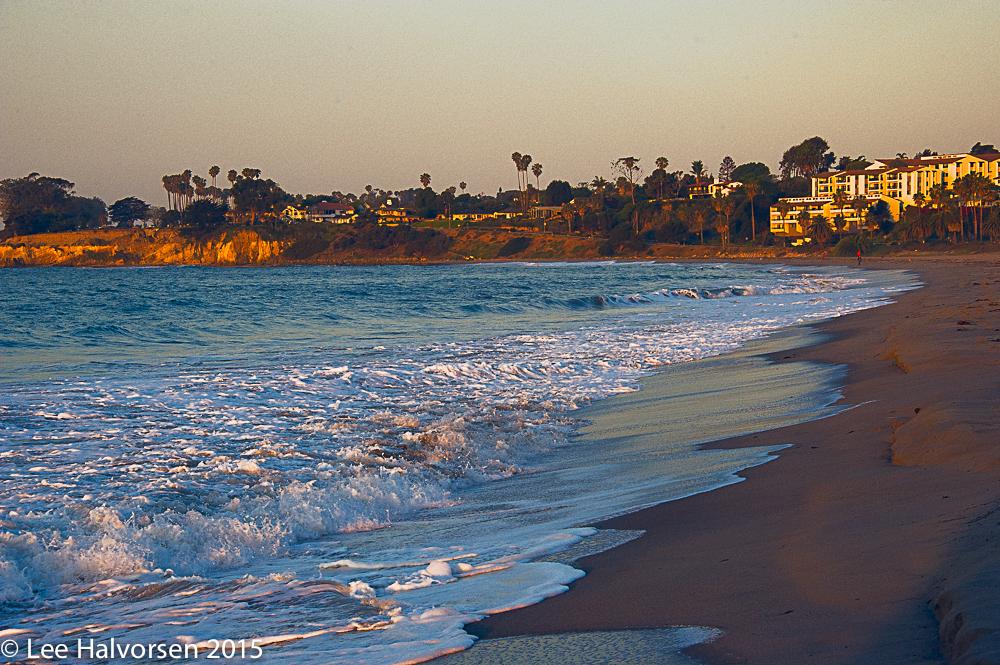 Beach at Santa Barbara Harbor