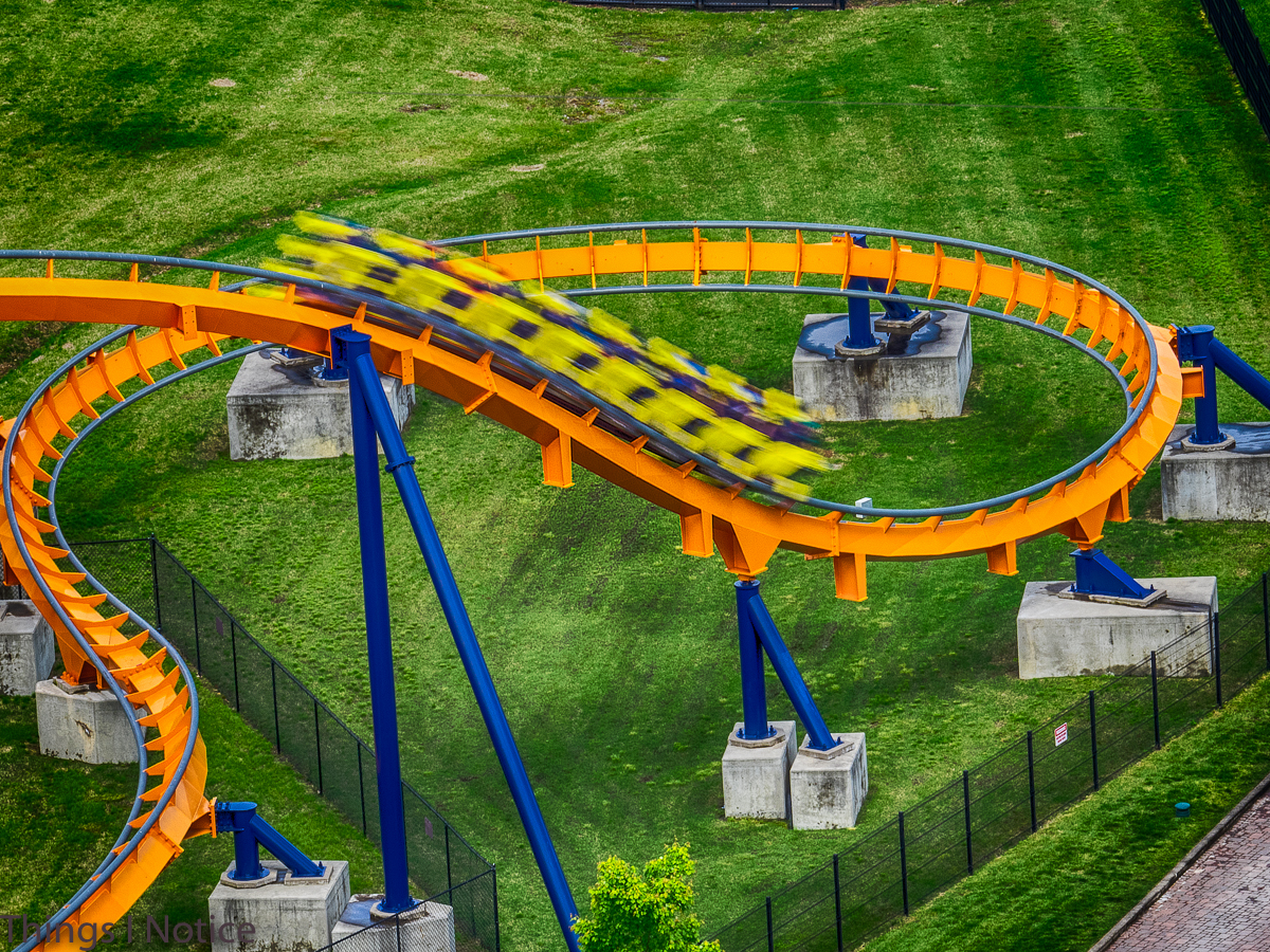 Kings Dominion Roller Coaster