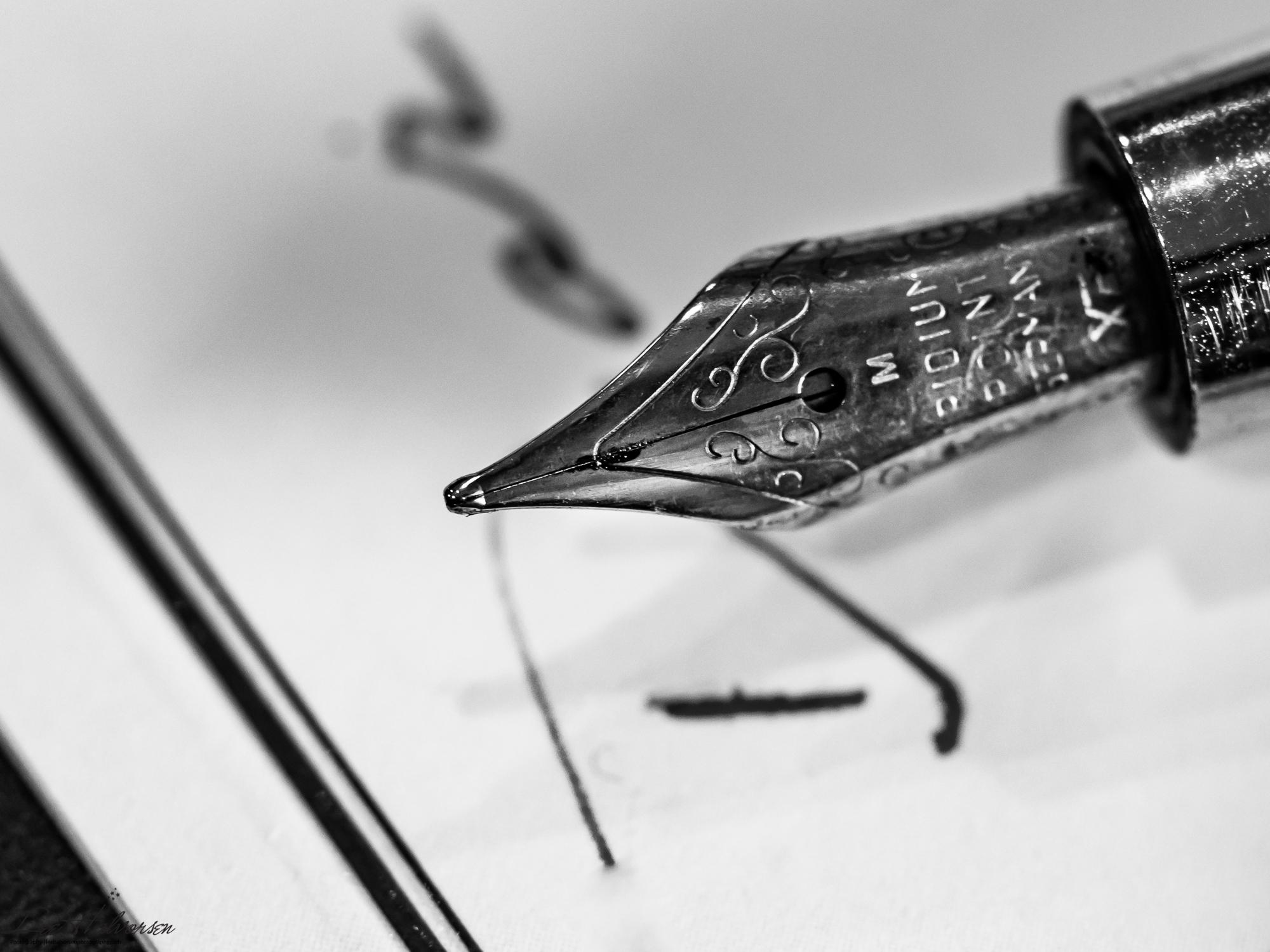 Iridium Fountain Pen