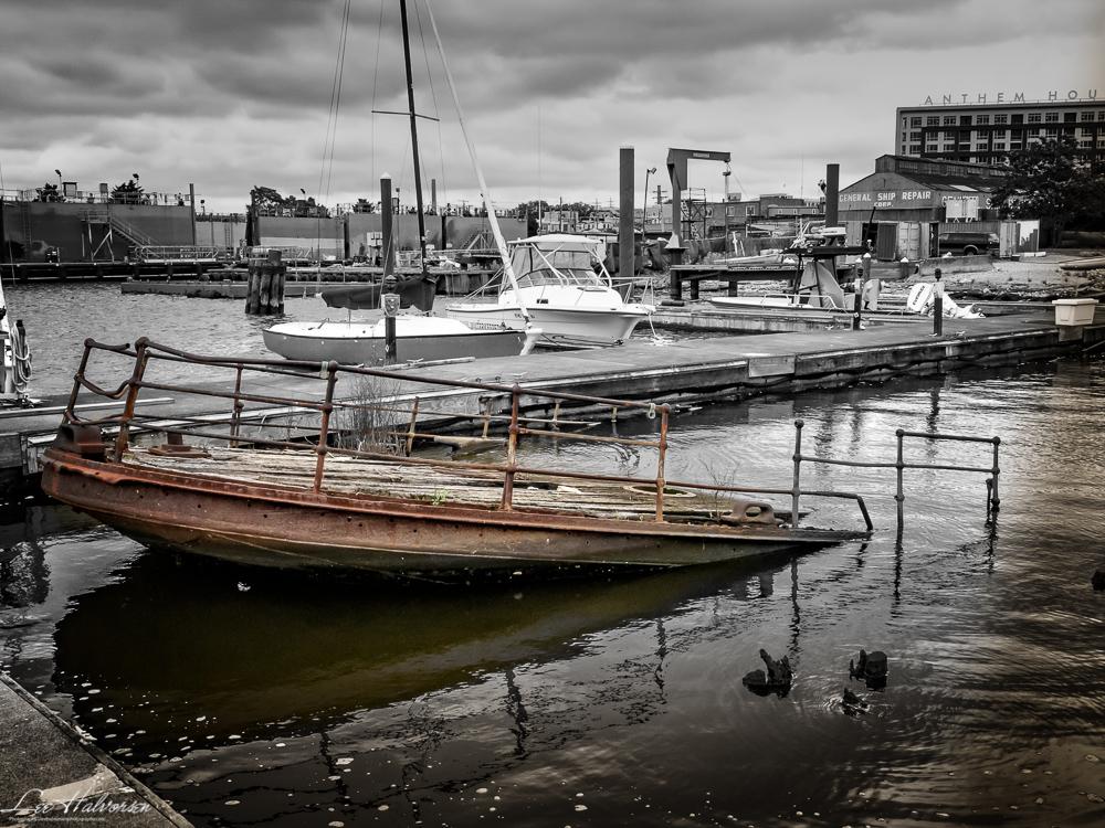 Oyster War Tugboat