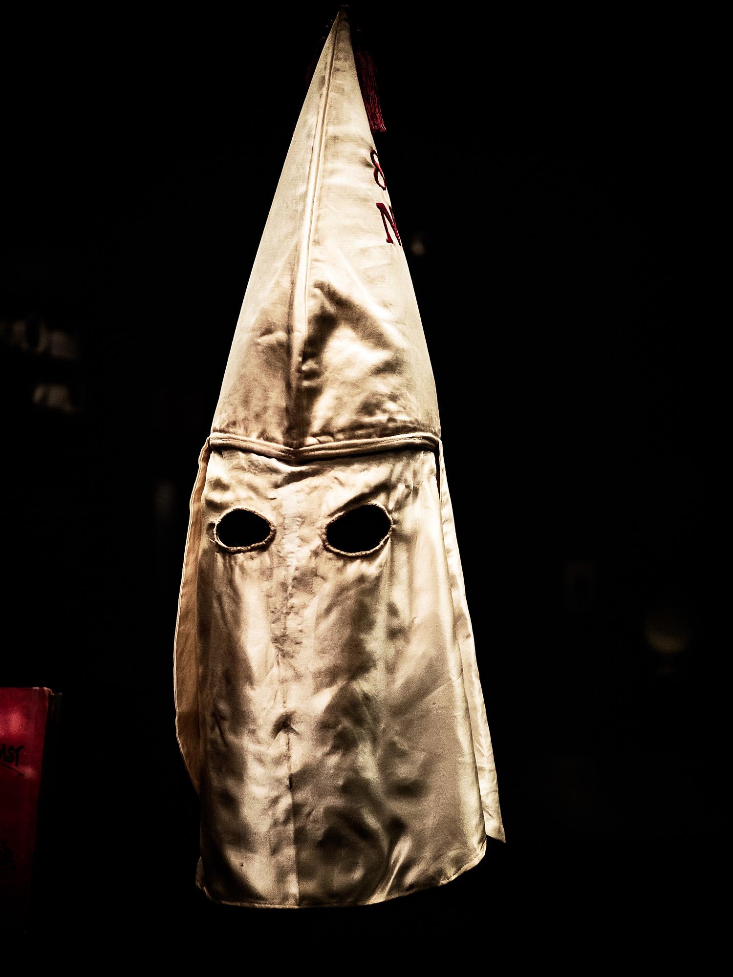 Smithsonian Hood of KKK