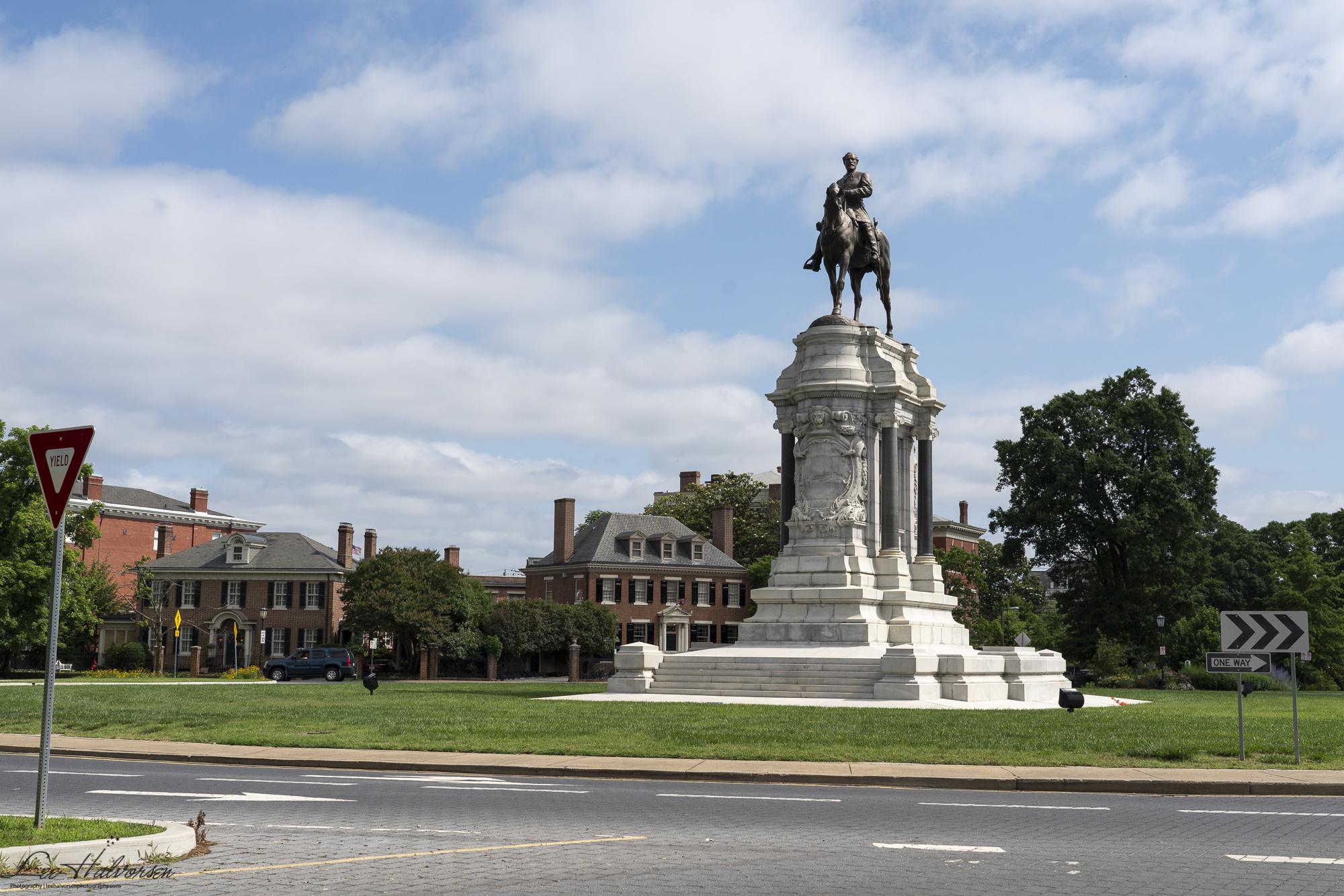 Robert E Lee Statue, Richmond VA