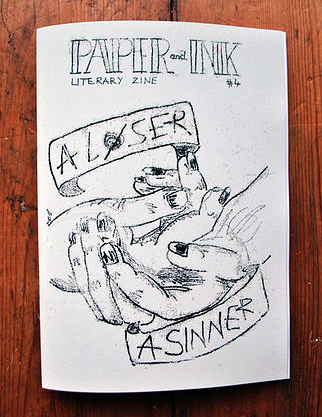 Jared A Carnie Poetry Paper and Ink Zine