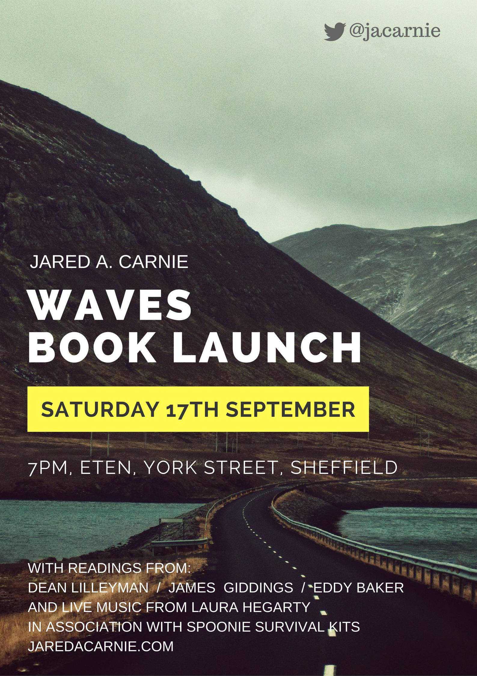 Waves Launch Poster