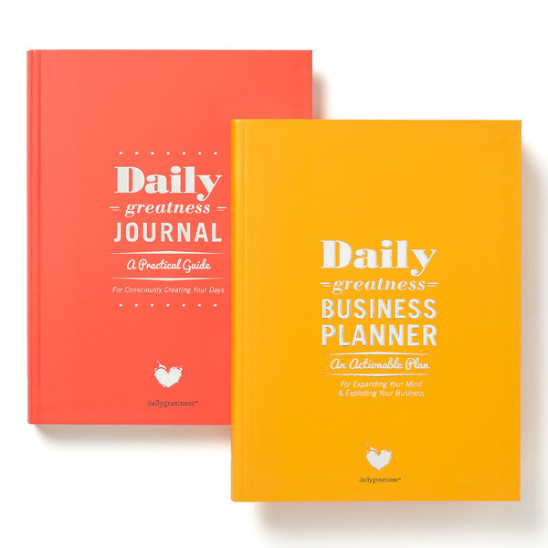 Looking for a great planner for the new year? Learn more about The Daily Greatness Planners and discover four of the best planners for life and business in this helpful list