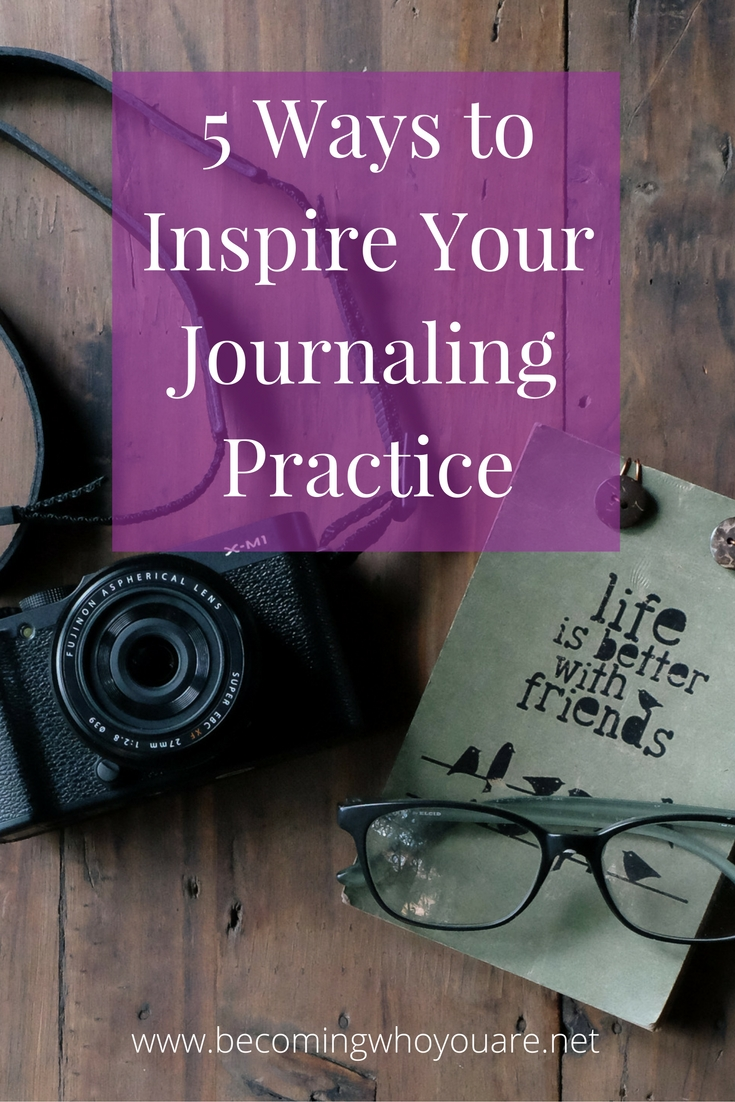 Is your journaling practice feeling a little stale? Click the image to discover 5 ways to inspire your practice starting today >>>