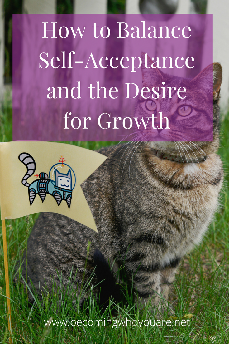 Do you wonder how to balance self-acceptance with the desire for growth? If there are changes you want to make in your life, does that mean you don't accept yourself? Click to find out more about this question and how to answer it for yourself >>>