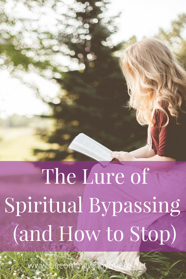 If you've been around the personal growth movement for a while, you've probably seen spiritual bypassing in action. Even with the best intentions, spiritual bypassing is unhelpful, even harmful. Click the image to discover what it is, why it matters, and what we can do about it.