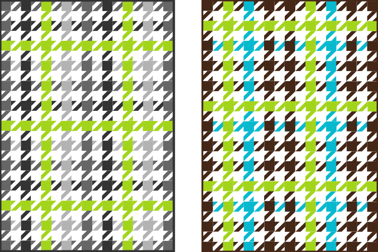 houndstooth quilts