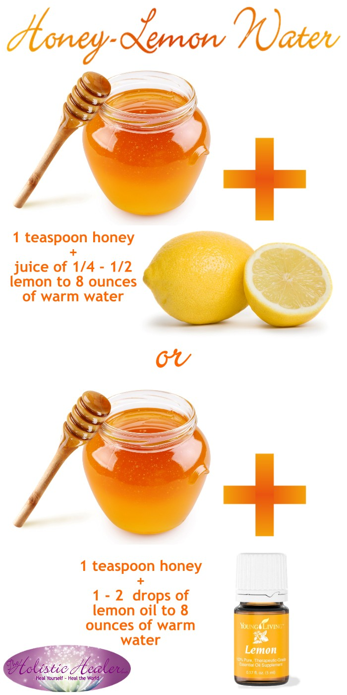 Honey-Lemon Water to start your day off right, and stay healthy.
