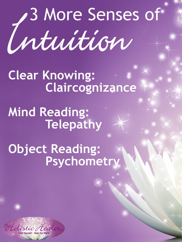 3 More Senses of Intuition