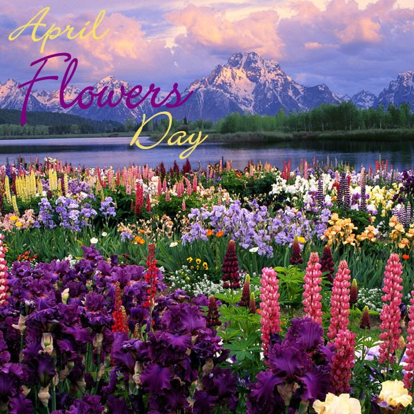 April Flowers Day