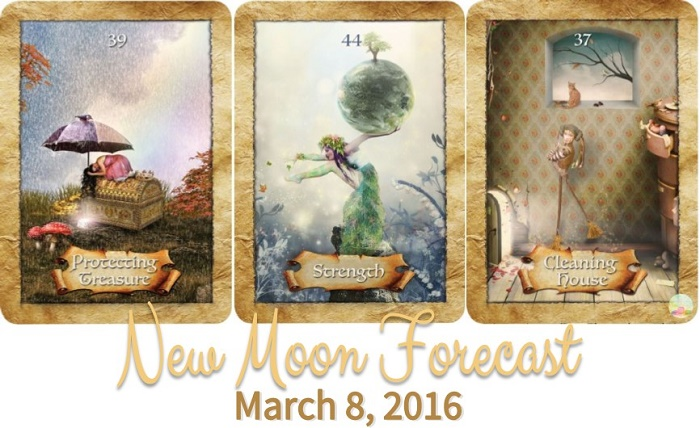 New Moon Forecast: March 8, 2016